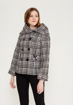 Полупальто, Indiano Natural, цвет: серый. Артикул: IN012EWAOUQ2. Одежда / Верхняя одежда / Пальто
