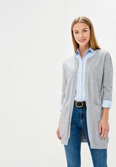 Кардиган, Indiano Natural, цвет: серый. Артикул: IN012EWBSBD6. Одежда