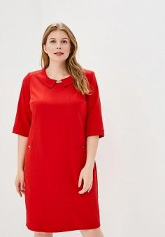 Платье, Izabella, цвет: красный. Артикул: IZ002EWBULF6. Одежда