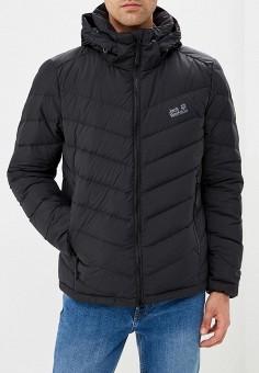 Пуховик, Jack Wolfskin, цвет: черный. Артикул: JA021EMCOGJ6. Одежда / Верхняя одежда / Пуховики и зимние куртки