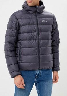 Пуховик, Jack Wolfskin, цвет: синий. Артикул: JA021EMCOGJ9. Одежда / Верхняя одежда / Пуховики и зимние куртки