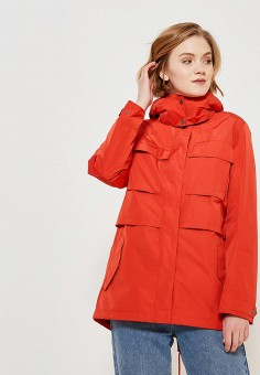 Парка, Jack Wolfskin, цвет: красный. Артикул: JA021EWAOQO3. Одежда / Верхняя одежда / Парки