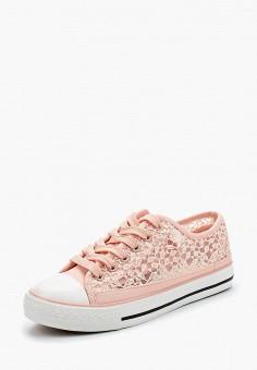Кеды, Janessa, цвет: розовый. Артикул: JA026AWAZFB3. Обувь / Кроссовки и кеды / Кеды