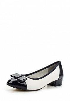 Туфли, Jana, цвет: белый. Артикул: JA125AWACKI3. Обувь / Туфли / Закрытые туфли