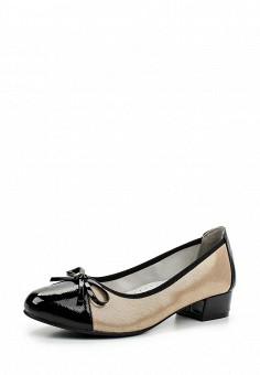 Туфли, Jana, цвет: бежевый. Артикул: JA125AWACKI4. Обувь / Туфли / Закрытые туфли