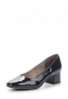 Туфли, Jana, цвет: синий. Артикул: JA125AWACKI7. Обувь / Туфли / Закрытые туфли