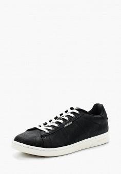 Кеды, Jack & Jones, цвет: черный. Артикул: JA391AMAFVC2. Обувь / Кроссовки и кеды / Кеды