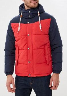 Куртка утепленная, Jack & Jones, цвет: красный. Артикул: JA391EMBZMD1. Одежда / Верхняя одежда / Демисезонные куртки
