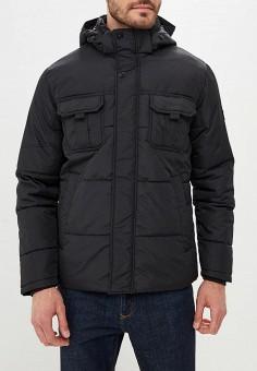 Куртка утепленная, Jack & Jones, цвет: черный. Артикул: JA391EMBZME3. Одежда / Верхняя одежда / Пуховики и зимние куртки