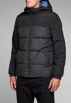 Куртка, Jack & Jones, цвет: черный. Артикул: JA391EMBZMF3. Одежда / Верхняя одежда / Демисезонные куртки