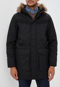 Куртка утепленная, Jack & Jones, цвет: черный. Артикул: JA391EMBZMI0. Одежда / Верхняя одежда / Пуховики и зимние куртки