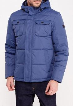 Куртка утепленная, Jack & Jones, цвет: синий. Артикул: JA391EMUIS81. Одежда / Верхняя одежда / Пуховики и зимние куртки