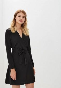 Платье, Jacqueline de Yong, цвет: черный. Артикул: JA908EWBULC6. Одежда / Платья и сарафаны