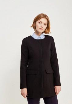 Пальто, Jacqueline de Yong, цвет: черный. Артикул: JA908EWZNY12. Одежда / Верхняя одежда / Пальто