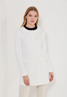 Пальто, Jacqueline de Yong, цвет: белый. Артикул: JA908EWZNY13. Одежда / Верхняя одежда / Пальто
