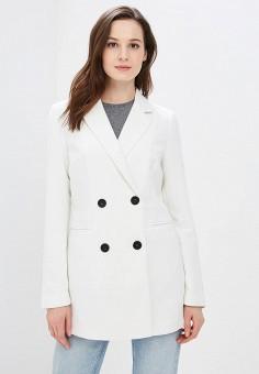 Пальто, Jacqueline de Yong, цвет: белый. Артикул: JA908EWZNZ60. Одежда / Верхняя одежда / Пальто