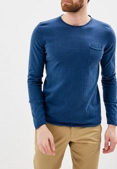 Джемпер, J. Hart & Bros, цвет: синий. Артикул: JH001EMAYSA3. Одежда / Джемперы, свитеры и кардиганы