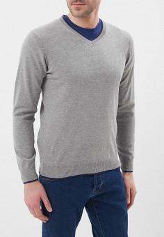 Пуловер, J. Hart & Bros, цвет: серый. Артикул: JH001EMAYSB0. Одежда / Джемперы, свитеры и кардиганы