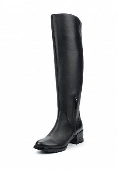 Ботфорты, Julia Grossi, цвет: черный. Артикул: JU011AWWGB39. Обувь / Сапоги