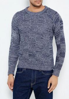 Джемпер, Just Key, цвет: синий. Артикул: JU016EMWKI61. Одежда / Джемперы, свитеры и кардиганы