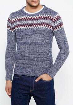 Джемпер, Just Key, цвет: синий. Артикул: JU016EMWKI66. Одежда / Джемперы, свитеры и кардиганы
