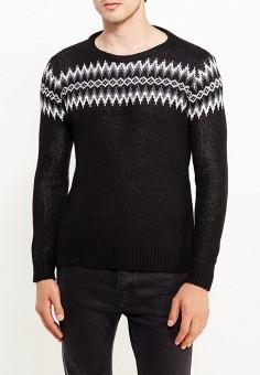 Джемпер, Just Key, цвет: черный. Артикул: JU016EMWKI67. Одежда / Джемперы, свитеры и кардиганы