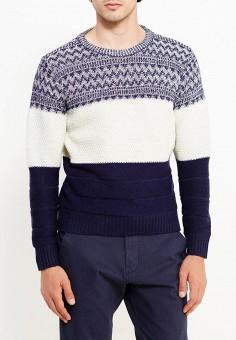 Джемпер, Just Key, цвет: синий. Артикул: JU016EMWKI70. Одежда / Джемперы, свитеры и кардиганы