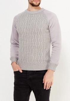 Джемпер, Just Key, цвет: серый. Артикул: JU016EMWKI92. Одежда / Джемперы, свитеры и кардиганы