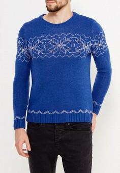 Джемпер, Just Key, цвет: синий. Артикул: JU016EMWKI96. Одежда / Джемперы, свитеры и кардиганы