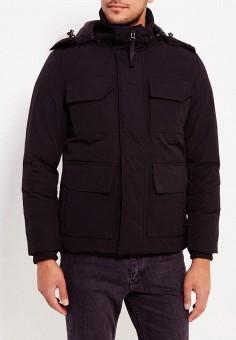 Куртка утепленная, Just Key, цвет: черный. Артикул: JU016EMXNX53. Одежда / Верхняя одежда / Пуховики и зимние куртки