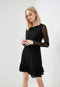 Платье, Juicy by Juicy Couture, цвет: черный. Артикул: JU018EWASCK1. Premium / Одежда / Платья и сарафаны
