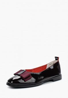 Туфли, Just Couture, цвет: бордовый. Артикул: JU663AWAXTK4. Обувь / Туфли / Закрытые туфли