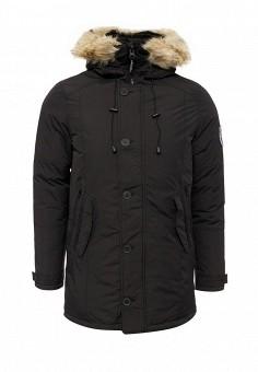 Куртка утепленная, Kamora, цвет: черный. Артикул: KA032EMPVP61. Мужская одежда / Верхняя одежда / Пуховики и зимние куртки