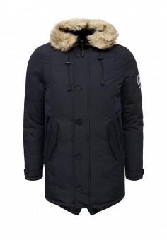 Куртка утепленная, Kamora, цвет: синий. Артикул: KA032EMPVP63. Одежда / Верхняя одежда / Пуховики и зимние куртки