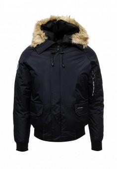 Куртка утепленная, Kamora, цвет: синий. Артикул: KA032EMXNG27. Мужская одежда / Верхняя одежда / Пуховики и зимние куртки