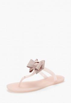 Сланцы, King Boots, цвет: розовый. Артикул: KI008AWBJUB1.