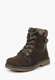 Ботинки Котофей 552098-41, цвет коричневый
