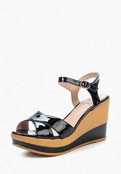 Босоножки, Kylie, цвет: черный. Артикул: KY002AWBLDA9. Обувь / Босоножки