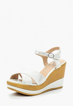 Босоножки, Kylie, цвет: белый. Артикул: KY002AWBLDB1. Обувь / Босоножки