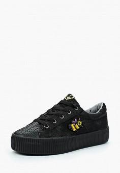 Кеды, Kylie, цвет: черный. Артикул: KY002AWBLDC3. Обувь / Кроссовки и кеды / Кеды