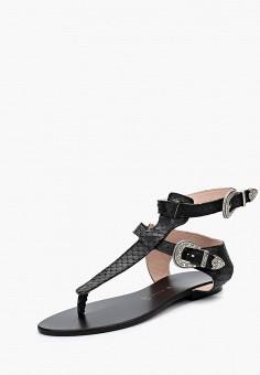 Сандалии, L37, цвет: черный. Артикул: L2670AWBMXU3. Обувь / Сандалии