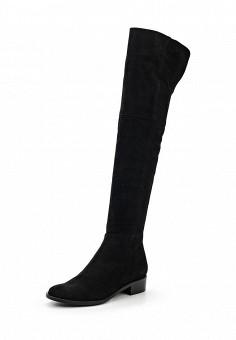 Ботфорты, Lamania, цвет: черный. Артикул: LA002AWWJL99. Обувь / Сапоги