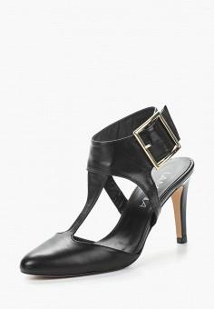 Босоножки, Lamania, цвет: черный. Артикул: LA002AWZWS58. Обувь / Босоножки