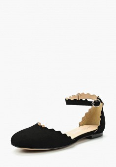 Сандалии, La Coleccion, цвет: черный. Артикул: LA060AWABFQ8. Обувь / Сандалии