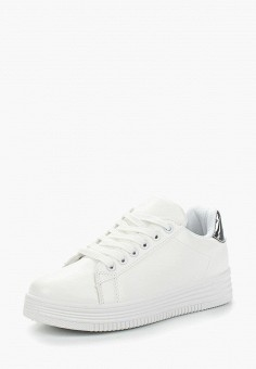 Кеды, La Bottine Souriante, цвет: белый. Артикул: LA062AWANTP5. Обувь / Кроссовки и кеды / Кеды