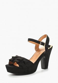 Босоножки, La Bottine Souriante, цвет: черный. Артикул: LA062AWBCTU7. Обувь / Босоножки
