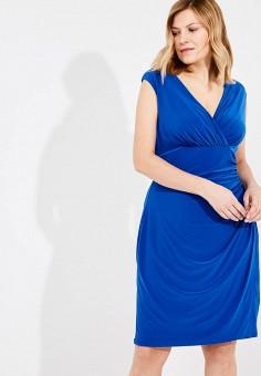 Платье, Lauren Ralph Lauren Woman, цвет: синий. Артикул: LA079EWAOSB5. Premium / Одежда / Платья и сарафаны