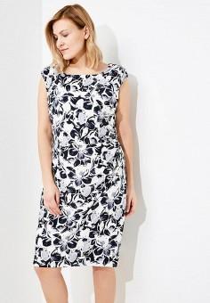 Платье, Lauren Ralph Lauren Woman, цвет: синий. Артикул: LA079EWAOSB6. Premium / Одежда / Платья и сарафаны