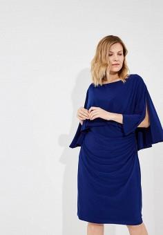 Платье, Lauren Ralph Lauren, цвет: синий. Артикул: LA079EWBAHM1. Premium / Одежда / Платья и сарафаны