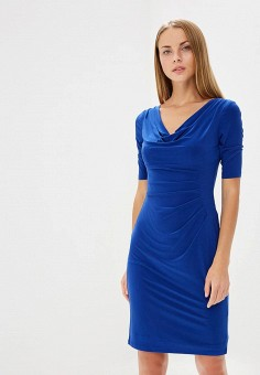 Платье, Lauren Ralph Lauren, цвет: синий. Артикул: LA079EWBXEH1. Premium / Одежда / Платья и сарафаны